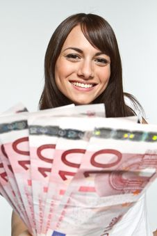 Free Money In Hand Stock Photo - 17124990