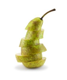 Free Pear Slices Stock Image - 17126511