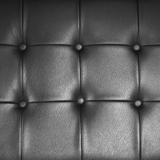 Free Black Leather Finished Furniture Royalty Free Stock Images - 17126539