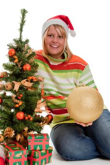 Free Under The Christmas Tree Stock Image - 17127151