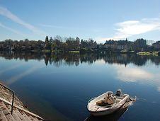 Free Boat In Sesto Calende Royalty Free Stock Image - 17127226