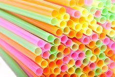 Free Macro Of Cocktail Straws Stock Photos - 17127313