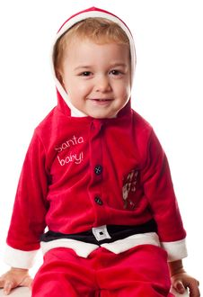 Santa S Baby Royalty Free Stock Photography
