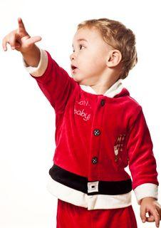 Free Santa Boy Stock Photo - 17128490