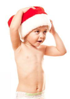 Free Santa S Baby Stock Photos - 17128543
