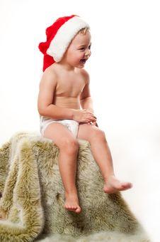Free Santa S Baby Stock Images - 17128564