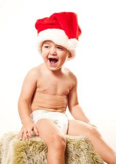 Free Santa S Baby Royalty Free Stock Images - 17128579