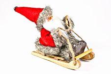 Free Santa. Royalty Free Stock Photography - 17130177