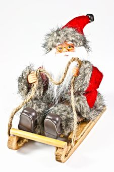 Free Santa. Stock Image - 17130191