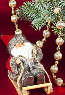Free Christmas Santa Claus. Stock Photo - 17130270