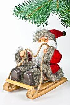 Free Santa. Royalty Free Stock Photography - 17130347