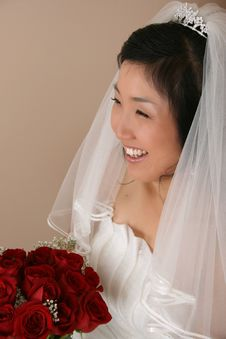 Free Korean Bride Stock Photo - 17131270