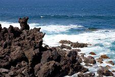 Free Lanzarote Coastline Stock Image - 17131521