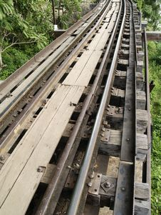 Free Old Rail Track Stock Images - 17131934