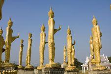 Free Many Statues Of Buddha Stock Photos - 17132313