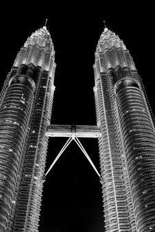 Free Petronas Twin Towers, Kuala-Lumpur Royalty Free Stock Photos - 17132698