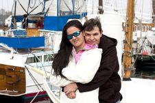 Free Happy Couple Embracing Stock Photo - 17132930