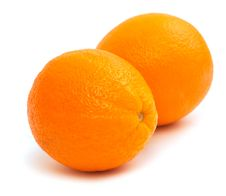 Free Two Oranges Royalty Free Stock Images - 17133439