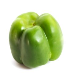 Free Green Pepper Bottom Royalty Free Stock Photography - 17133467