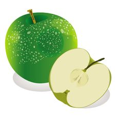 Free Green Apple Royalty Free Stock Photos - 17133908