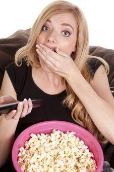 Free Enjoying Popcorn Stock Images - 17134664