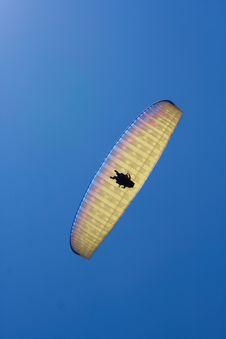 Tandem Paraglider Stock Photos