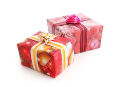 Free Gift Boxes Royalty Free Stock Photography - 17135447