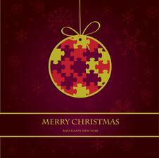 Free Christmas Ball Royalty Free Stock Photos - 17135968