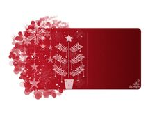 Free Red Christmas Frame Royalty Free Stock Photography - 17137307