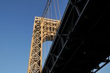 Free Part Of George Washington Bridge Stock Photos - 17138173