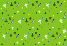 Free Christmas Design Pattern Seamless Stock Photography - 17138562