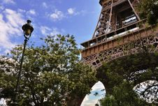 France Paris Eiffel Tower Stock Photo
