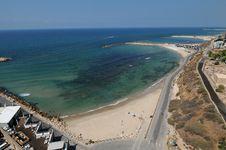 Free Tel Aviv Beach, Israel Royalty Free Stock Images - 17138859