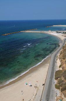 Free Tel Aviv Beach, Israel Royalty Free Stock Photos - 17138978