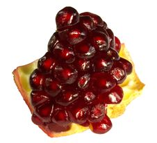 Free Pomegranate Piece Stock Photo - 17139820