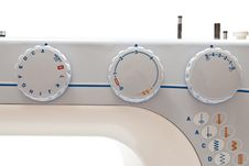 Free Sewing Machine Detail Royalty Free Stock Photography - 17140947