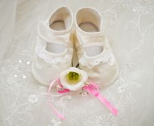 Baby S Shoe Stock Images