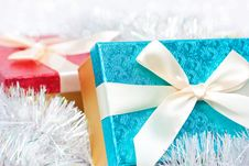 Free Gift Boxes Royalty Free Stock Photography - 17143017