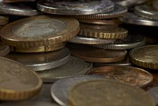 Free Coins Stock Image - 17143241