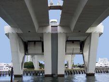 Free Bridge Over Causeway Royalty Free Stock Photo - 17143315