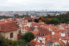 Free View Of Prague From The Top Royalty Free Stock Photography - 17143377
