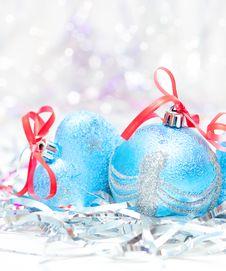 Free Christmas Balls Stock Image - 17143641