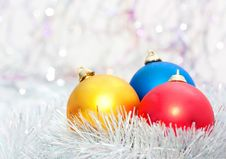 Free Christmas Balls Royalty Free Stock Image - 17143816