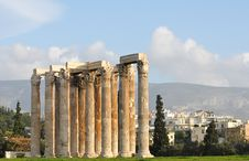 Free Temple Of Zeus Royalty Free Stock Images - 17144229