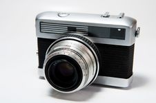 Free Old Camera Royalty Free Stock Photography - 17145277