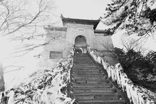 Free Chinese Pagoda Mount Huashan Stock Image - 17145471