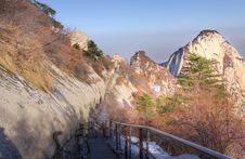 Free Road To North Peak Mount Huashan Stock Photos - 17145503