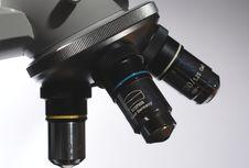 Free Scientific Microscope Stock Photography - 17145522