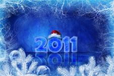 Free Blue Christmas Background Royalty Free Stock Image - 17146826