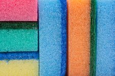 Kitchen Sponge Pattern Royalty Free Stock Image